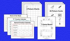 Speech Therapy Materials