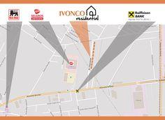 Localizare Ansamblu Ivonco Residential: Bdul Biruinței, DN 3, Str. Independenței, nr. 6, orasul Pantelimon, Ilfov