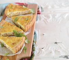 Here is a recipe for a quick and easy quiche lorraine