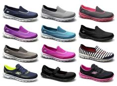 Skechers GO WALK 2 Womens Ladies Walking Running Fitness Aerobics Trainers