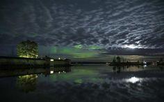 Nyt on hyvä aika tähyillä revontulia etelässäkin – Näin upeana taivas leimusi Rauhaniemessä Finland, Northern Lights, Nature, Travel, Naturaleza, Viajes, Aurora, Nordic Lights, Trips
