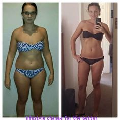 This Girl got these results in 10 WEEKS!! High Grade Superfood is all it is!