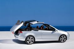 Photographs of the 2009 Volkswagen Eos. An image gallery of the 2009 Volkswagen Eos. Convertible, Huge Truck, Vw Eos, Volkswagen Group, Cabriolet, Prank Videos, Commercial Vehicle, My Ride, Bugatti