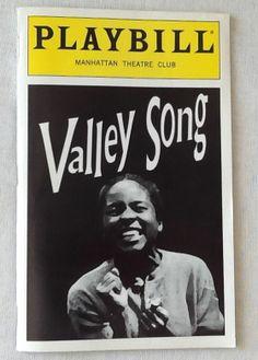Valley Song Playbill Press Kit 1996 LisaGay Hamilton Marius Weyers Athol Fugard