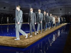 Prada SS15 Catwalk by AMO - News - Frameweb #design #fashion #runway