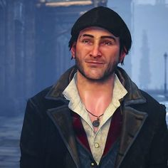 This faces • @cutie_arno @storycatt #jacobfrye #eviefrye #assassinscreed #assassimscreedsyndicate