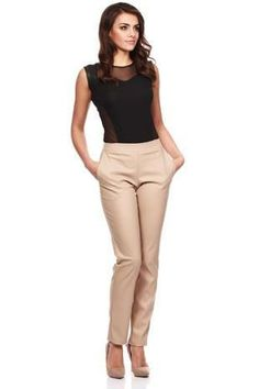 Straight Leg Slim Sleek Chic Pants
