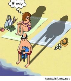 Funny adult joke cartoon husband and wife isfunny.net