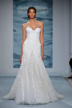 Abito bianco da sposa