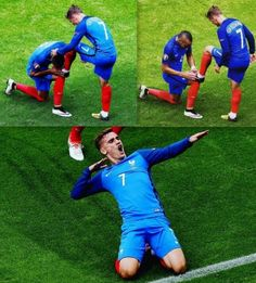 Antoine Griezmann of France in the 2014 World Cup Soccer