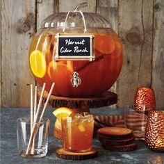 Pumpkin Beverage Jar, available at #surlatable