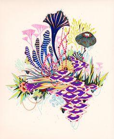 Fine Art Print  Radiance por yellena en Etsy, $20.00