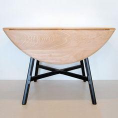 Ercol circular drop leaf table Ercol Furniture, Bespoke Furniture, Ercol Table, Drop Leaf Table, Craftsman, England, House Design, Flat, Dining