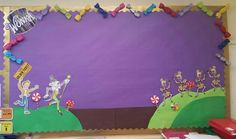 Charlie and the Chocolate Factory class display board