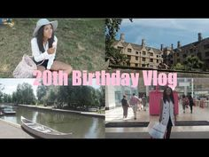 Aine's Wardrobe | My 20th Birthday Vlog - Punting In Cambridge and Shopp...