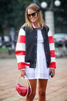 Razzle Dazzle Rose-Street Style-Milan Fashion Week S/S '14