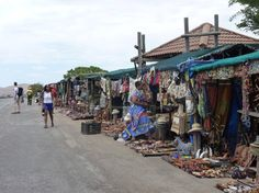 Typical African Market