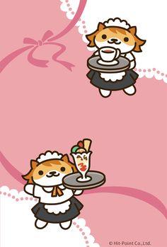 ALL Neko Atsume backgrounds! Cute Little Kittens, Cats And Kittens, Neko Atsume Wallpaper, Neko Atsume Kitty Collector, Cat Collector, Cute App, Kitty Games, Cute Games, Kawaii Art