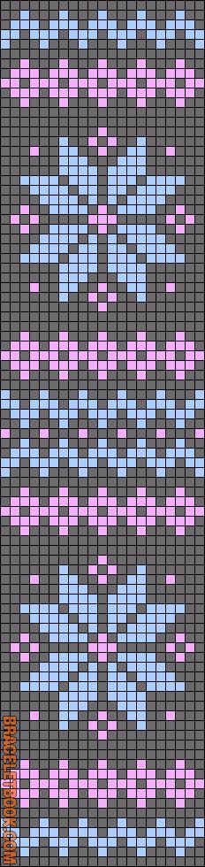 Rotated Alpha pattern
