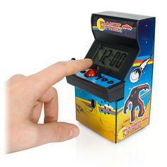 Arcade Alarm Clock