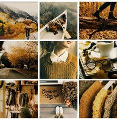 Hufflepuff/autumn aesthetic