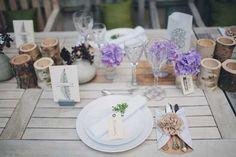24 tischdekoration für hochzeit holz rustikal laendlich hochzeit Kiefer Hochzeit in Beige – Naturfarben Hochzeit Inspiration