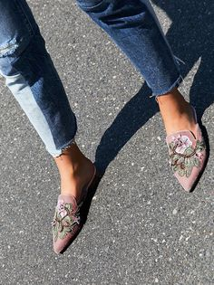 Women's Shoes Summer Shoes, Fall Shoes & More is part of Shoes - Put your fashionable foot forward with Free People shoes that are perfect for every occasion Shop Free People shoes online and stay on trend yearround Pretty Shoes, Beautiful Shoes, Cute Shoes, Me Too Shoes, Fall Booties, Fall Shoes, Summer Shoes, Dressy Flats, Casual Shoes