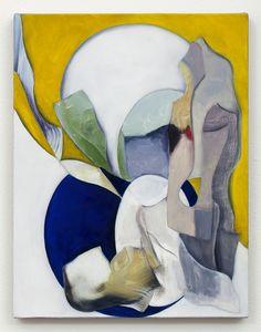 Lesley Vance - Untitled, 2013 Oil on linen