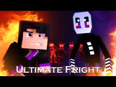 """""""Ultimate Fright""""   FNaF Minecraft Animated Music Video (Song by DHeusta & SmokeTheBear) - YouTube Fnaf Minecraft, Minecraft Songs, Music Video Song, Music Videos, Fnaf Song, League Of Legends Characters, Art Sketches, Animation, Youtube"""