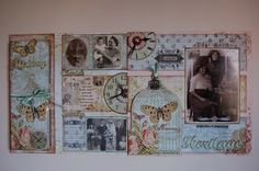 Jamies Happy Scrapping: Female Heritage double page layout
