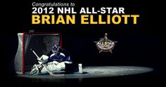 2012 NHL All-Star pick Brian Elliott - St. Louis Blues