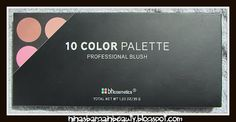 Ninas Bargain Beauty: BH Cosmetics 10 Color Professional Blush Palette Review  http://ninasbargainbeauty.blogspot.ie/2012/06/bh-cosmetics-10-color-professional.html