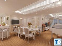 Nội thất phòng khách và phòng ăn đẹp đơn giản giá rẻ hấp dẫn Bf142042fc4c46e3a864de9855d80e5b