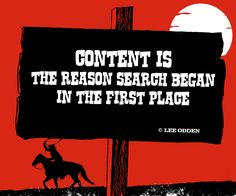 "Content is the reason search began in the first place."" - Lee Odden #animation_Video #Video_Quotes"