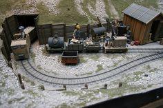 G Scale Trains, get G Scale Scenery and G Scale Figures at www.modelleisenbahn-figuren.com Train Miniature, Garden Railroad, Rail Train, Hobby Trains, Train Table, Ho Scale Trains, Model Train Layouts, N Scale, Model Trains