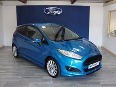 Ford Fiesta 1.0 EcoBoost 125 Zetec S 3dr Hatchback Petrol Blue