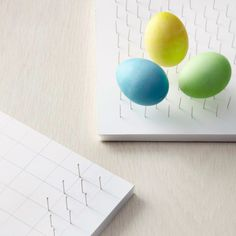 Easter egg drying pin board: If you're super serious about those eggs!