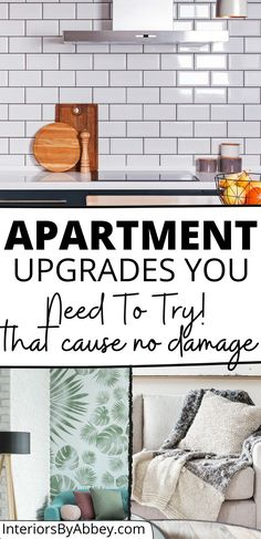 Renting Decorating, Apartment Decorating On A Budget, Apartment Design, Rental House Decorating, Rental Makeover, Apartment Makeover, Rental Home Decor, Rental Homes, Small Apartment Hacks