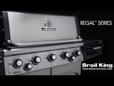 Broil King Regal Built-In Propane Gas Grill - Stainless Steel - 886714 Cal Flame, Propane Gas Grill, Stainless Steel Grill, Grilling, King, Crickets