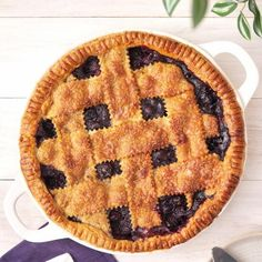 Classic, traditional Easy Homemade Blueberry Pie with a homemade flaky pie crust. The crust is made with a stand mixer to keep the recipe easy. You can also do it by hand with a pastry cutter—fewer and wide strips for an easy and quick lattice: great for lattice beginners. This Blueberry pie is easy to make, and by the end, you'll have the best homemade blueberry pie to relish. This recipe is perfect for newbies to someone who is looking for a comparatively quick treat. The inside is perfect…