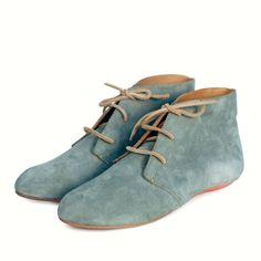 Mist Suede Nomad Bootie | Sseko Designs #Boots #Laceup #Adventure