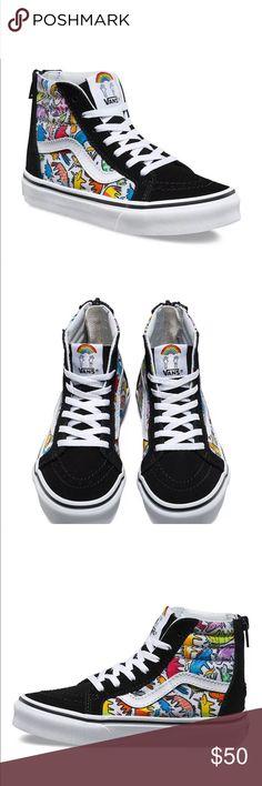 01de7394230b24 Dallas Clayton Kids Vans Sk8-Hi Zip 7 New Unisex Brand New in Box!