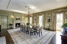 $13.7 Million Historic Georgian Mansion In Washington, DC | former home of Mr & Mrs Paul & Bunny Mellon | c.1930's | 3055 Whitehaven Street NW, Washington, DC | 13,000 sf | 10 bed | 7 full 2 half baths | English gardens with views of the British Embassy | $13,700,000 USD