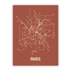 Cool modern interpretation of subway maps by Lineposters. I ought to make one for Munich.