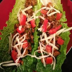 Celebrate Taco Tuesday with tacos wrapped in romaine lettuce shells!