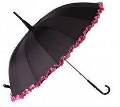 Burlesque Ruffle Umbrella - Isabelle