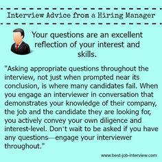 Expert Advice On Asking Questions In Your Interview #jobinterviews