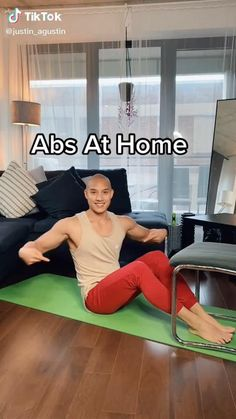 Effective abs workout to keep you fit and healthy at home using a chair. Give it a try! #beginnerworkout #abs #abworkout #workoutroutine #coreworkout #workout #homeworkouts Side Fat Workout, Full Body Hiit Workout, Ab Core Workout, Slim Waist Workout, Fitness Workout For Women, Workout Challenge, Morning Ab Workouts, Gym Workouts, At Home Workouts