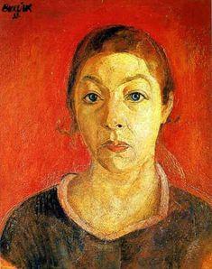 Portrait of Marusia, 1933, David Burliuk