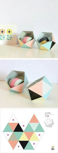 Origami Box Tutorial